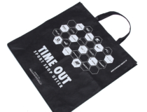 PP non woven Taschen TIME OUT