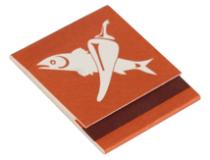 Streichhölzer Briefchen U9 45×50 mm