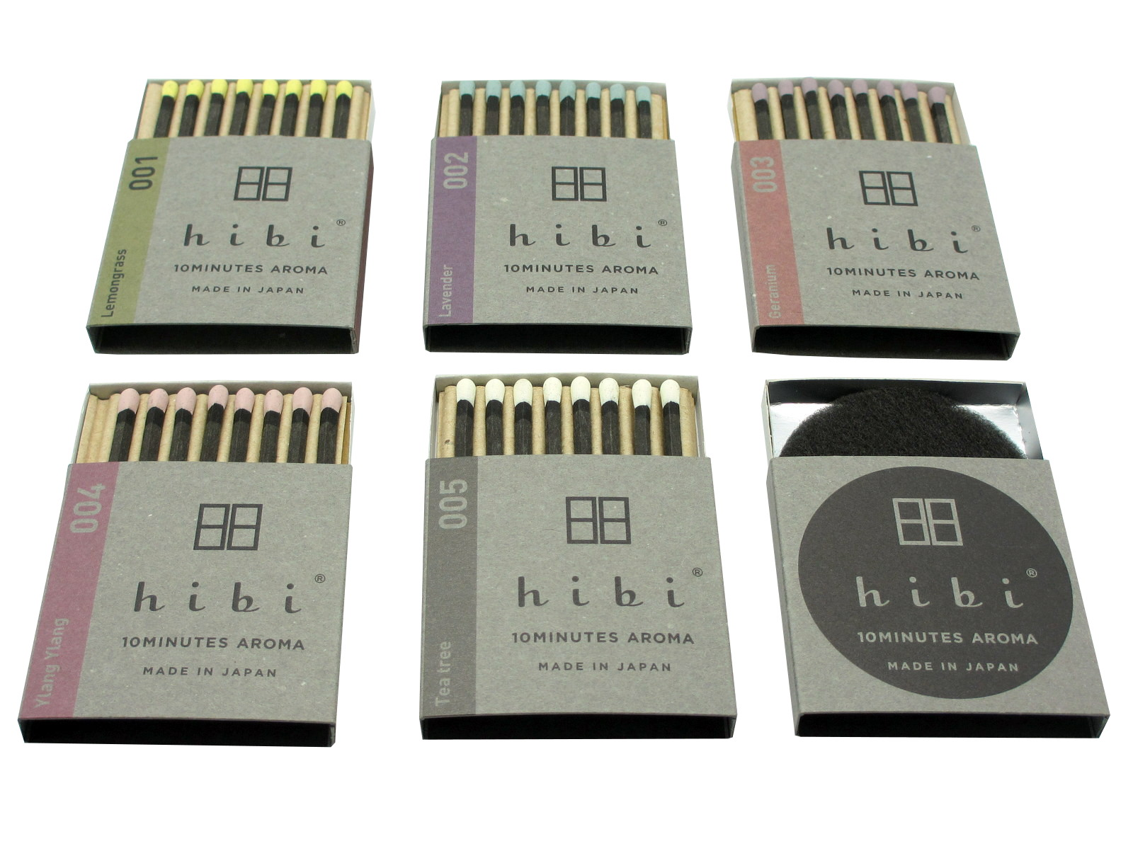 hibi ® - 10MINUTES AROMA - MADE IN JAPAN
